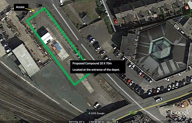 Chester residents invited to find out more about essential rail bridge replacement: Brook Lane map