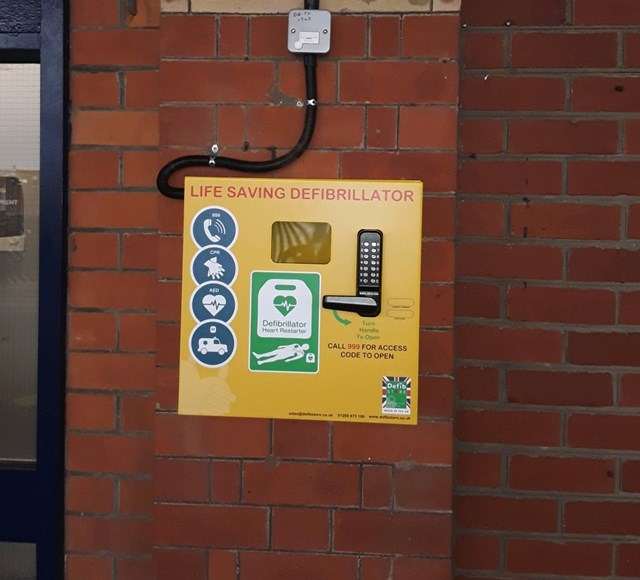 Lifesaving defibrillators have now been installed at six railway stations in Yorkshire and Lincolnshire-2