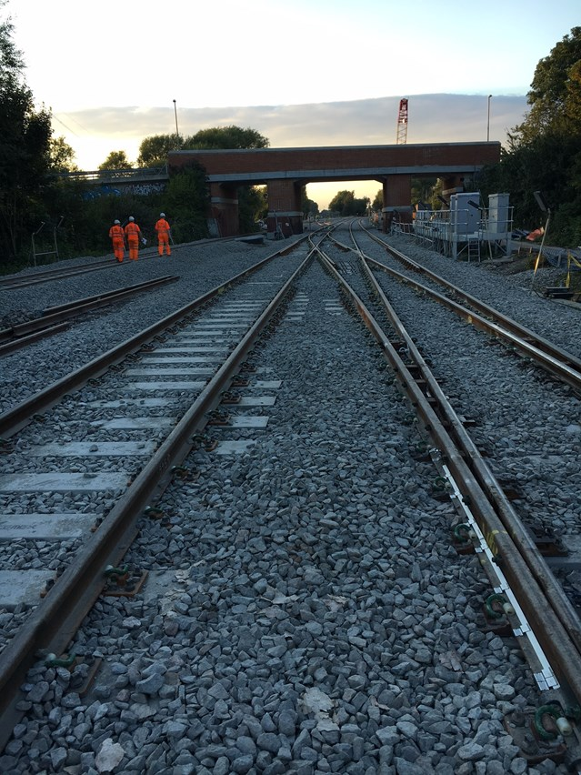 Residents invited to find out more ahead of summer railway upgrade: Track will be relayed in Oxford, paving the way for quicker line speed