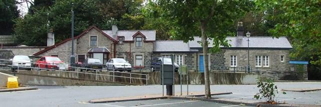 Llangefni station on Amlwch branch line