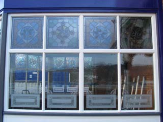 Stalybridge buffet bar - new/restored windows