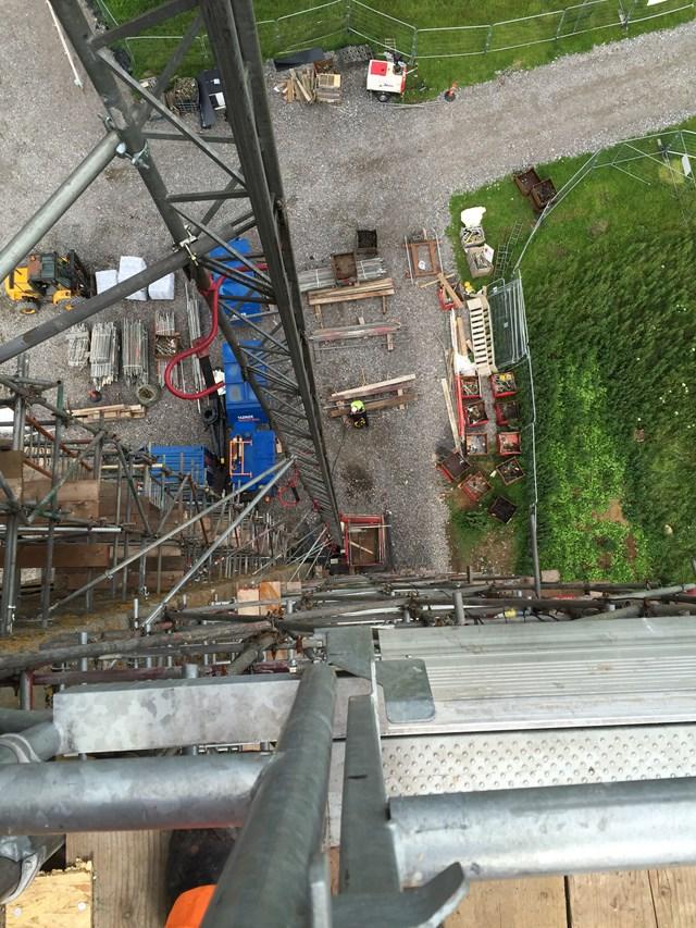 Findhorn 6 Looking Down