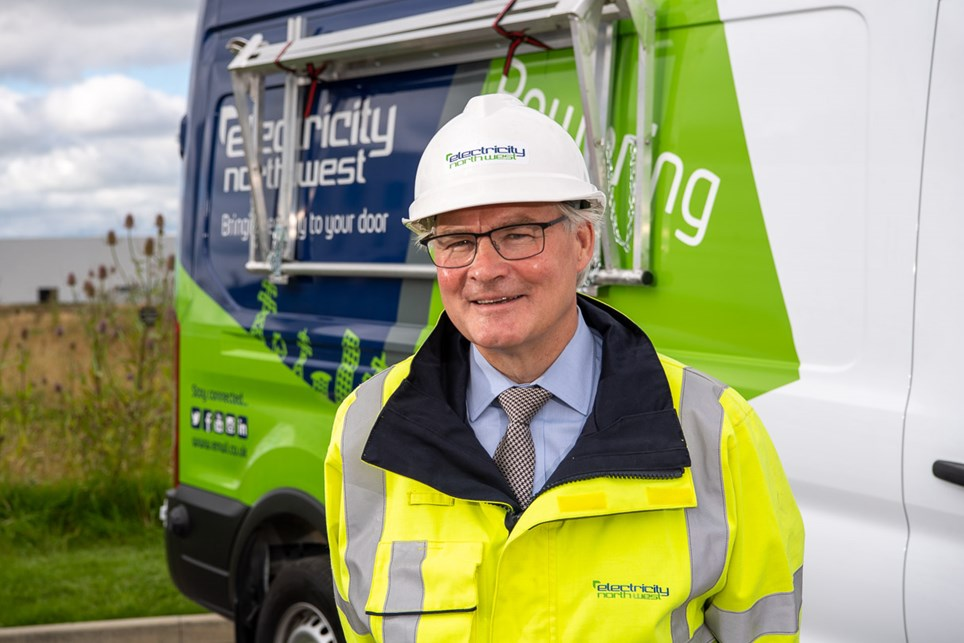 Electricity North West chief executive Peter Emery