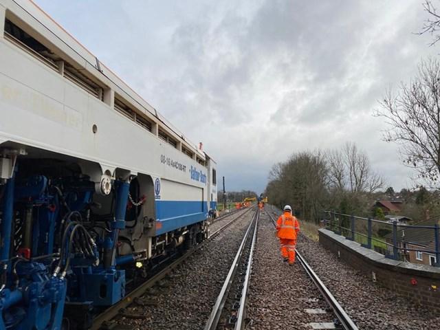 Wanborough repairs 2