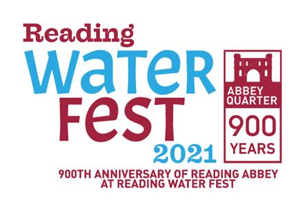 Water Fest logo: Water Fest Abbey 900 2021 celebration