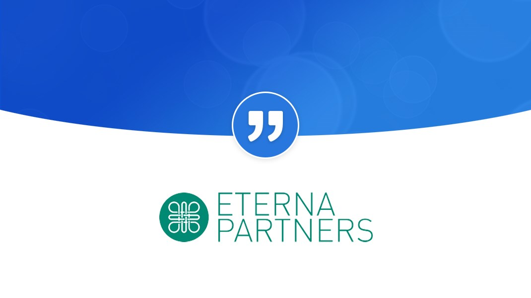 "Eterna Partners ""great for managing disparate and complex stakeholder groups"": EternaQuote Testimonials Hero"