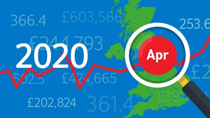 Annual house price growth was gaining momentum before the pandemic struck the UK: 04-HPI-2020-Apr