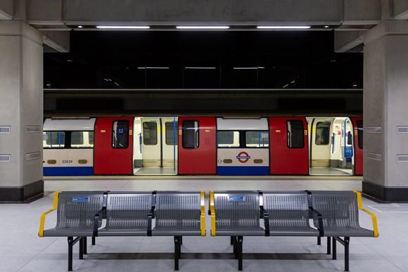 TfL Image - Battersea Power Station - train at platform