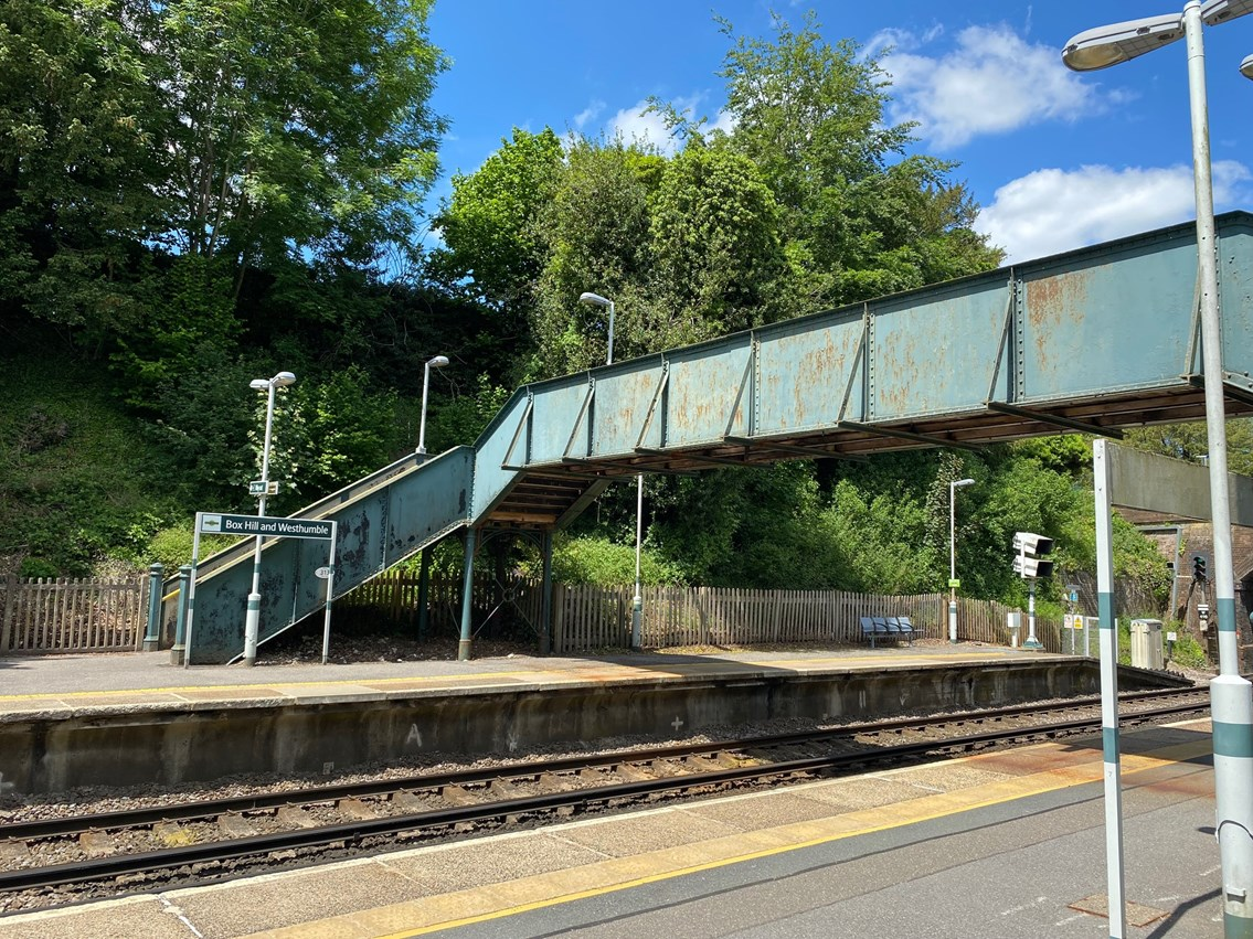 £1m upgrade at Box Hill & Westhumble station, home to National Trust landmark Box Hill: Box Hill and Westhumble station