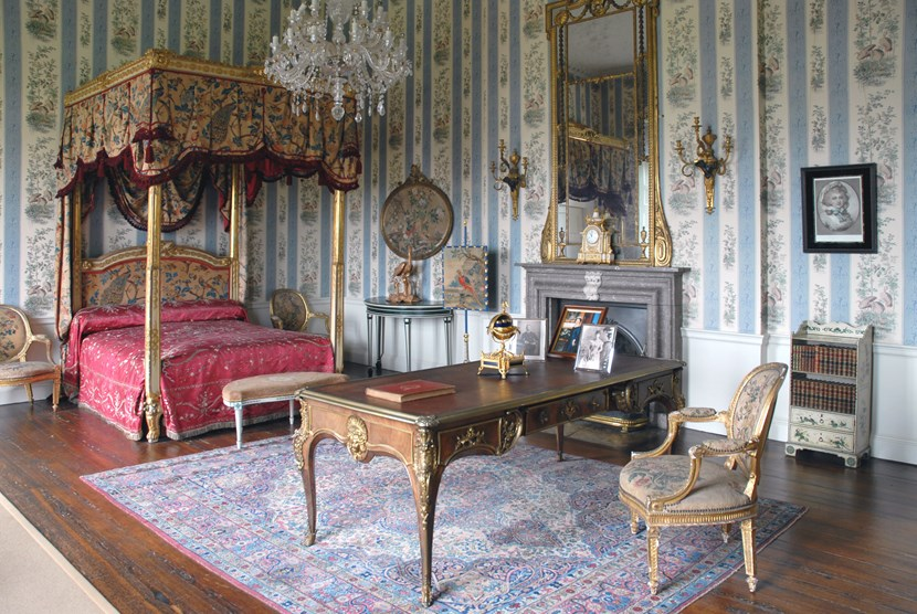 Regal bedroom's upkeep is a right royal affair: South Bedroom 1