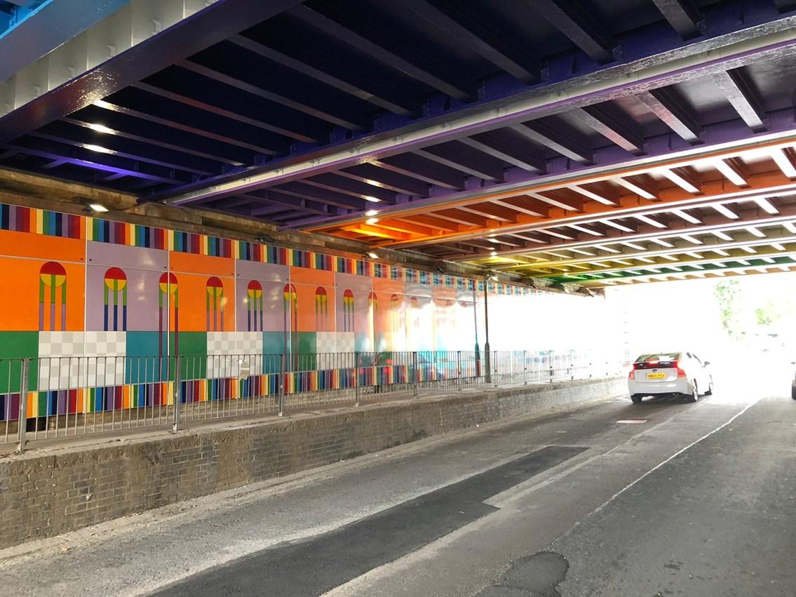 Thessaly Road bridge 2