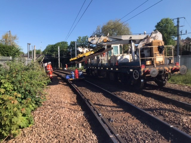 Bank Holiday weekend rail works deliver reliability improvements across Anglia: PLTR Norwich4