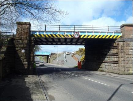 Bridge replacement work back on track for Glasgow Road, Carmuirs: Glasgow Road, Carmuirs work back on track