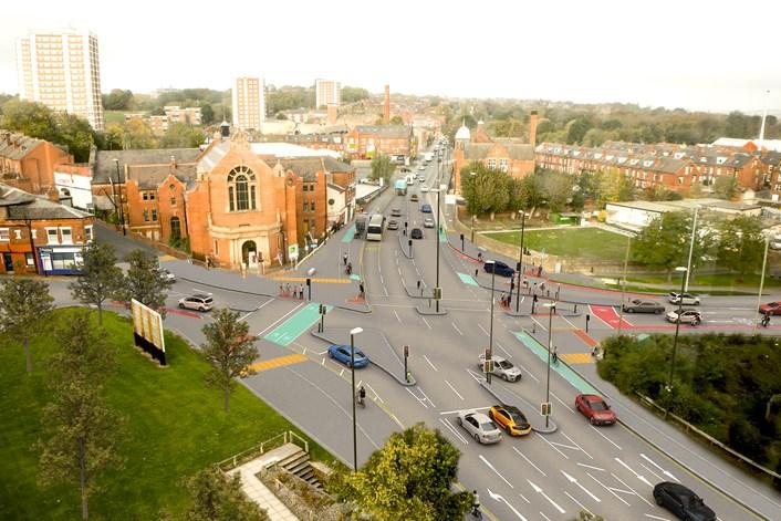 Armley Road-Leeds Photo-Montage 2020