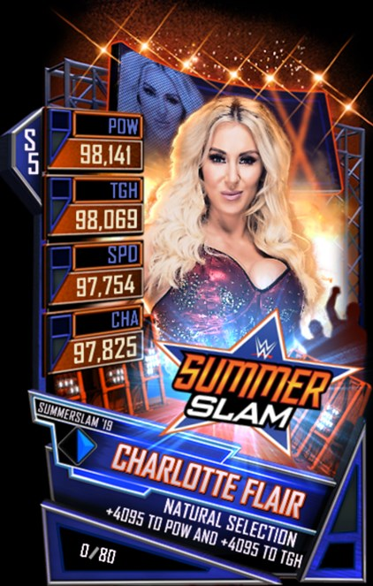 WWESC S5 Charlotte Flair SS19