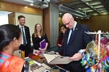 3- Deputy First Minister John Swinney meets Social Entrepreneurs in India