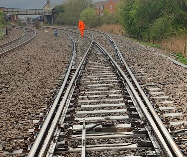 Normal service resumes after engineering train derailment, Church Fenton