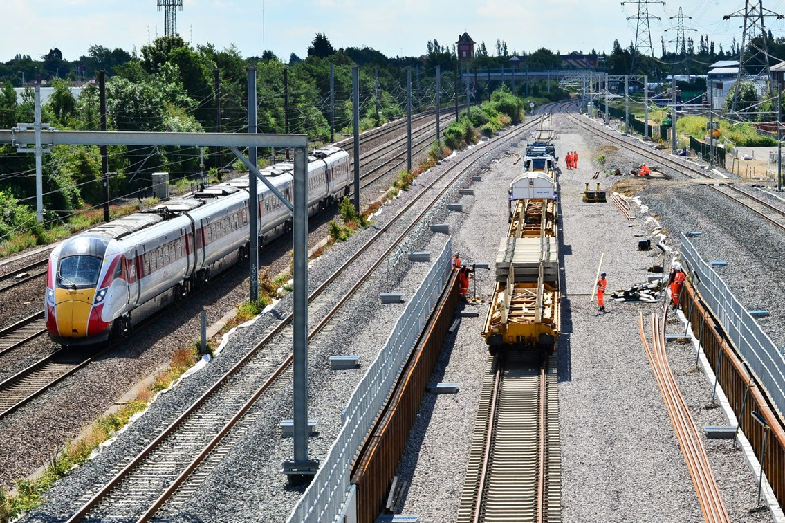 Network Rail to connect ground-breaking 11,000-tonne tunnel near Peterborough to existing track this month: Network Rail to connect ground-breaking 11,000-tonne tunnel near Peterborough to existing track this month