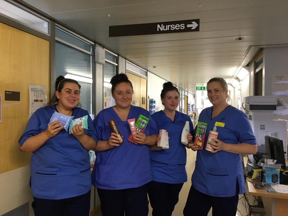 Local communities and key workers helped by Avanti West Coast employees during COVID-19 crisis: Royal Alexandra Hospital Nurses