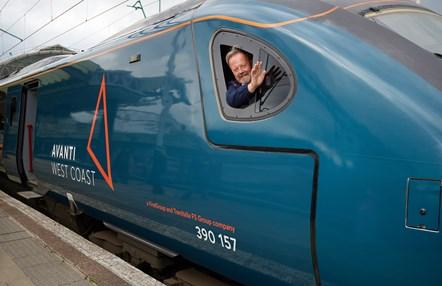 Avanti West Coast Steve Wilson 4: Steve Wilson (Train Driver, Avanti West Coast)