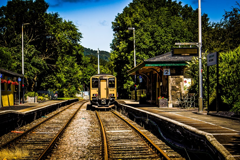 Transport for Wales launches Welsh language announcements: North Llanrwst station