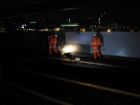 Network Rail volunteers at work