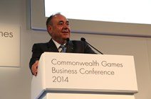 First Minister at the Commonwealth Games Business Conference