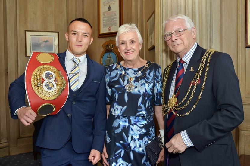 Boxing champion Josh Warrington honoured with special city civic reception: lm-lmm.jpg