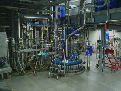 Powered by Siemens Simatic PCS 7 GEO® Specialty Chemicals Hythe plant increases production of specialty monomers: S2 Main Plant First Floor (Reactor Top)