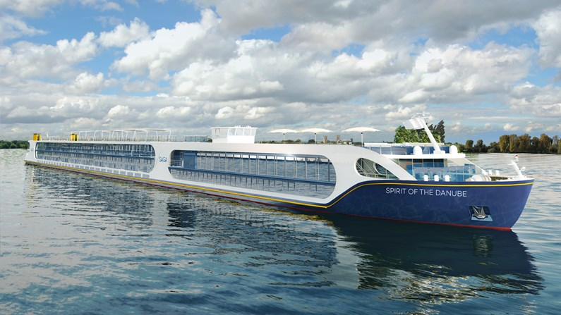 Saga bolsters river cruise offer as new ship Spirit of the Danube is unveiled: Spirit of the Danube