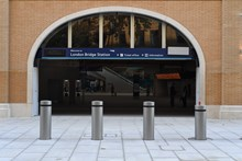 St Thomas Street entrance to London Bridge: One of two new entrances to London Bridge station on St Thomas Street