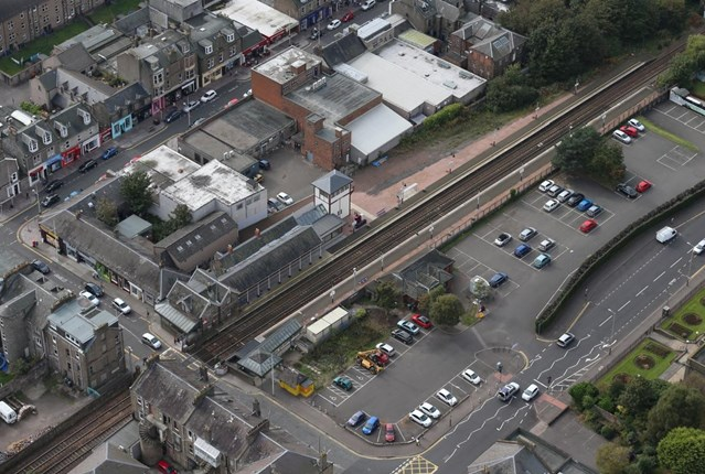 Broughty Ferry upgrade works move to 2018: BroughtyFerry Aerial