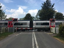 Major upgrade to railway in Leicestershire means temporary changes to level crossings