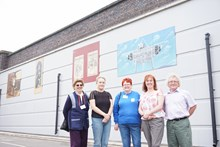 Network Rail install heritage murals on upgraded bridge in Nottinghamshire