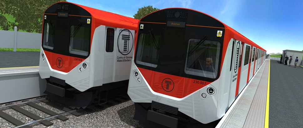 Transport for Wales nominated for National Procurement Awards: Class 230s exterior