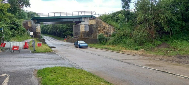 A6003 reopens as Network Rail continues with final stage of Manton bridge reconstruction: A6003 reopens as Network Rail continues with final stage of Manton bridge reconstruction