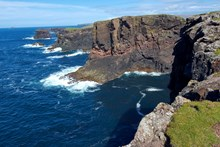 The seacliffs at Esha Ness National Scenic Area on the Shetland mainland. ©Lorne Gill: The seacliffs at Esha Ness National Scenic Area on the Shetland mainland. ©Lorne Gill