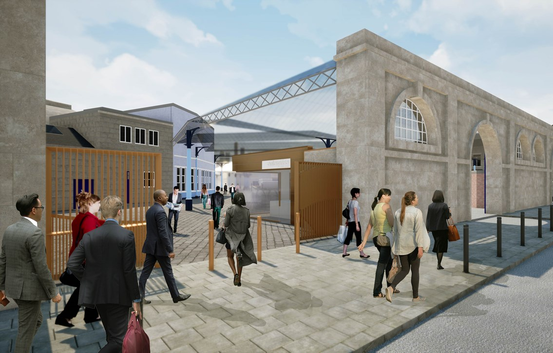 Next phase of Newcastle Central Station transformation due to begin in September: An artist's impression of the new improvements to Newcastle Central Station