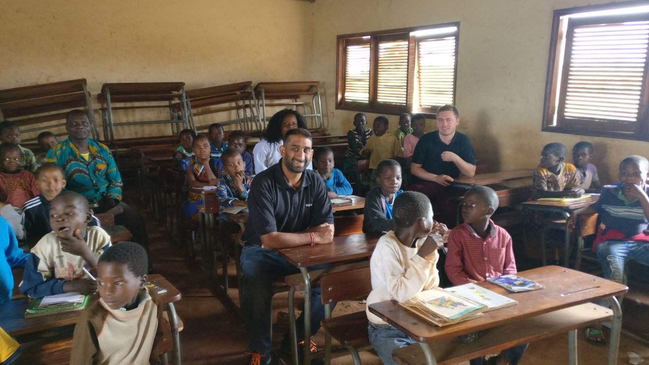 Siemens Engineers Support African Charities: Siemens Engineers Support African Charities