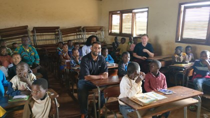 Siemens Engineers Support African Charities: Siemens Engineers Support African Charities