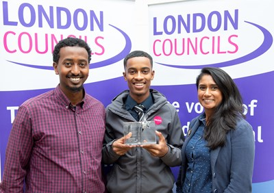 Outstanding apprentice helping revitalise Islington estates is named among London's best