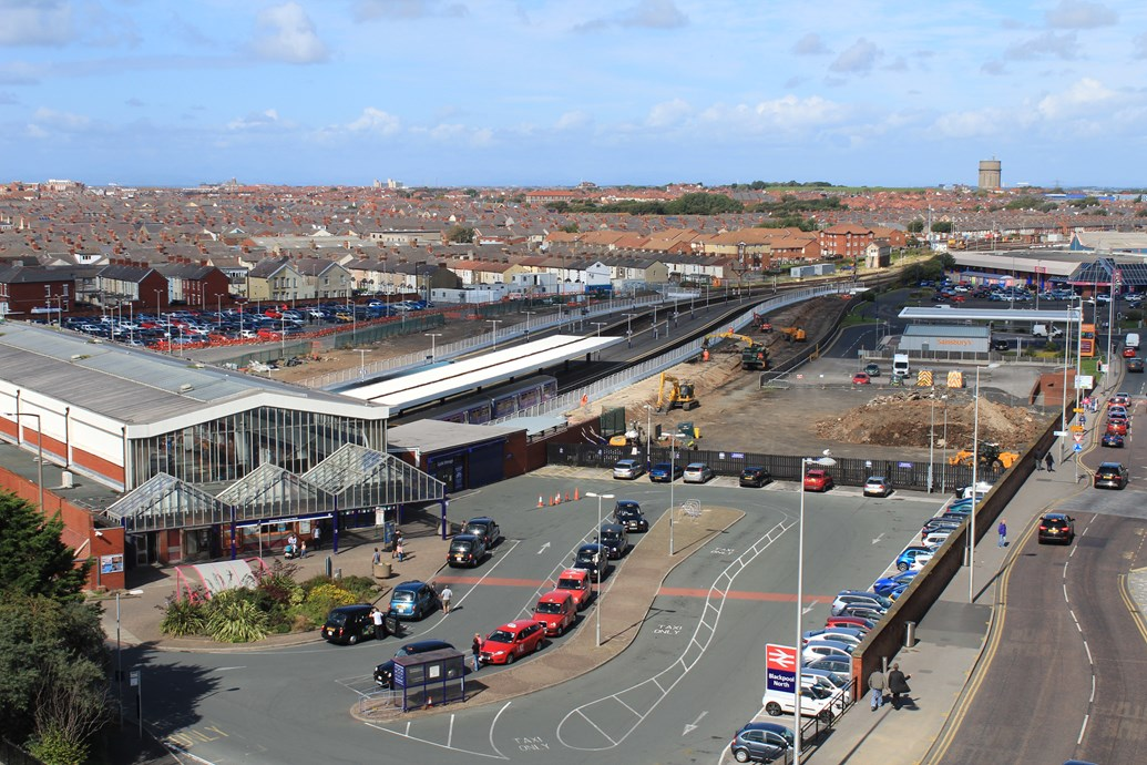 Preston to Blackpool railway upgrade is the biggest since 1800s: Blackpool North station