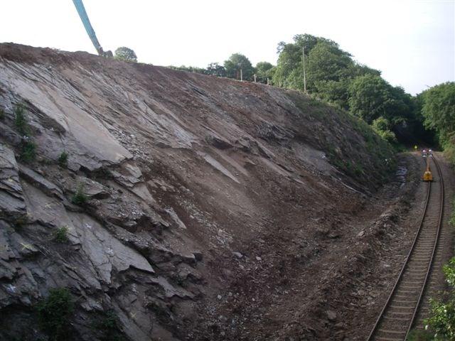 Gunnislake Branch line, Devon - landscape: Photograph taken 22.06.06