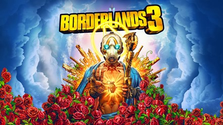 "See the Full Borderlands® 3 Gameplay Reveal Presentation and Catch the New ""Gameplay Reveal Event Trailer"" Now: BL3 Key Art Small"