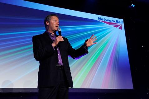 Partnership Award host Rory Bremner