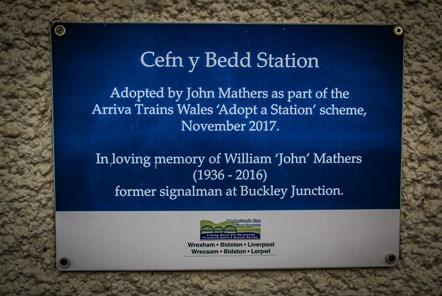 Cefn-y-Bedd station