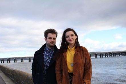 Dundee image - Taylor Dyson and Calum Kelly from Elfie Picket Theatre