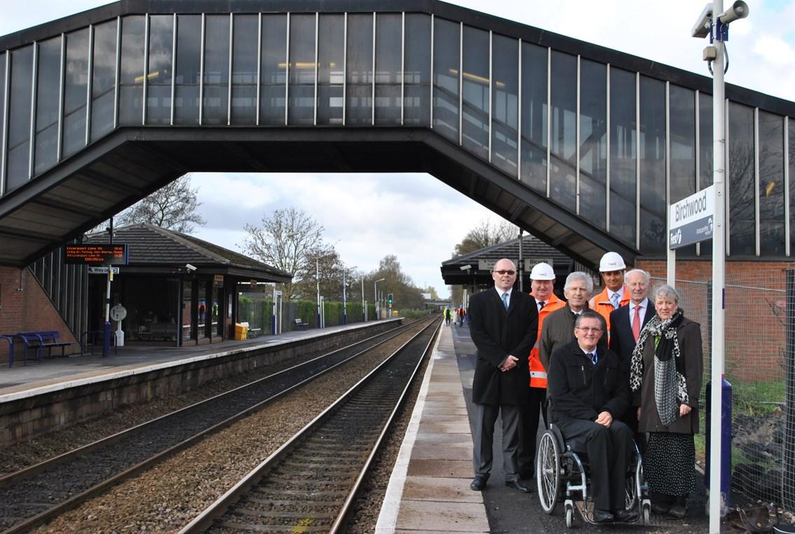 Easier access for passengers at Birchwood: Birchwood station