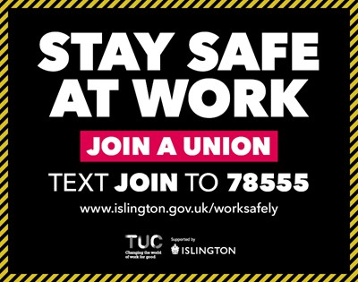 TUC and Islington Council stand together to promote safe return to work