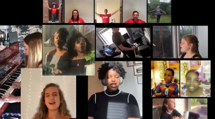 City's young stars align to record inspirational lockdown anthem: Lockdown vid 1
